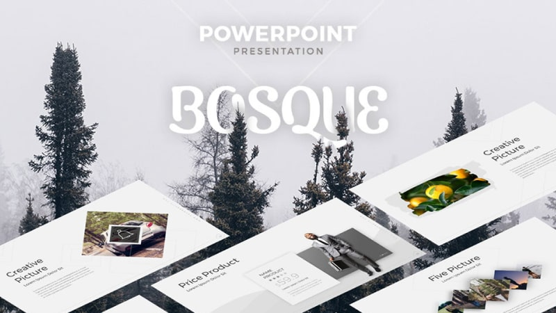 Bosque Photography PowerPoint Template