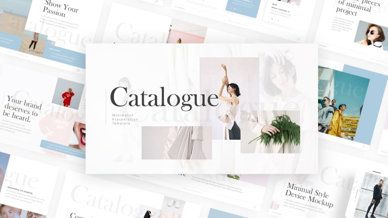 Catalogue – Basic Fashion Presentation Template