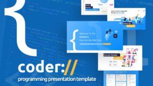 Coder Programmer PowerPoint Template