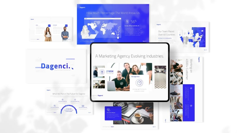 Dagenci Business PowerPoint Template