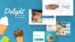 Delight – Desserts Food Presentation Template