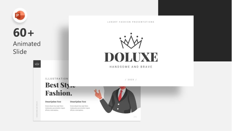 Doluxe Fashion PowerPoint Template