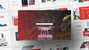 Droneva Technology PowerPoint Template