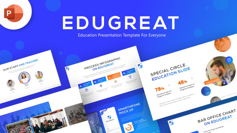 Edugreat Education PowerPoint Template