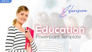 Eduvision Education PowerPoint Template