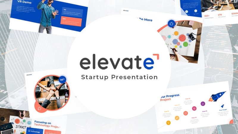 Elevate – Futuristic Presentation Template