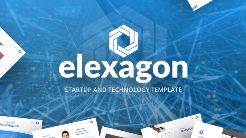 Elexagon Technology PowerPoint Template