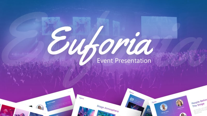 Euforia Music PowerPoint Template