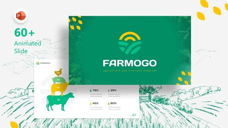 Farmogo Agriculture PowerPoint Template