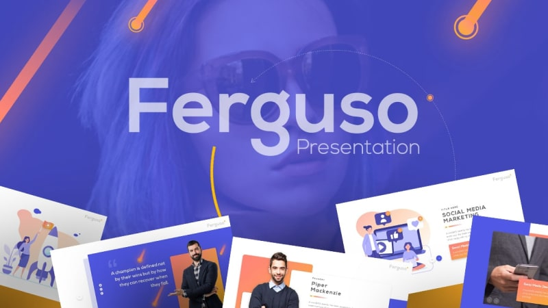 Ferguso Business PowerPoint Template