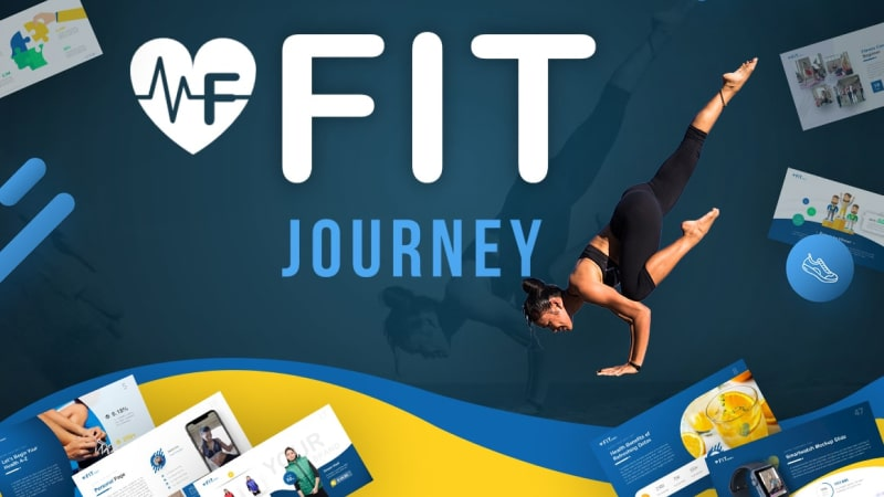 Fit Journey – Work Out Presentation Template