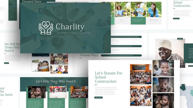 Free-Charity-Charity-Presentation-Template