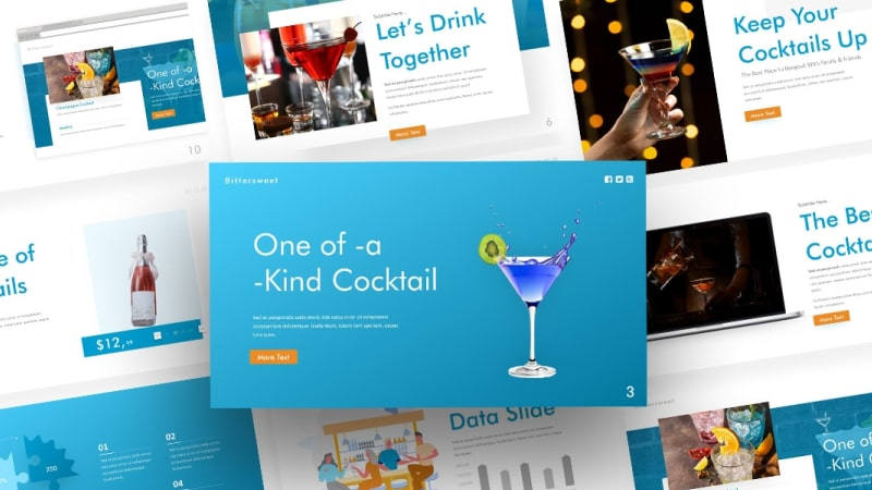 Free-Cocktails-Presentation-Template