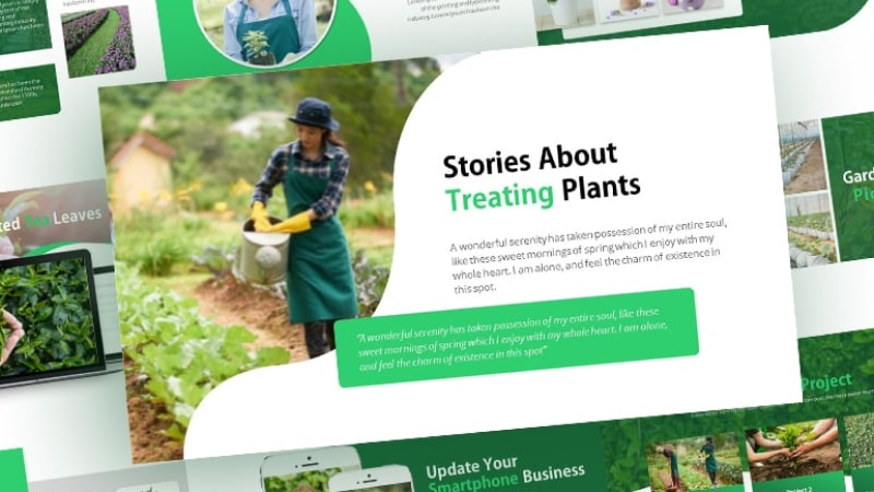 Free-FreshTrend-Gardening-Presentation-Template