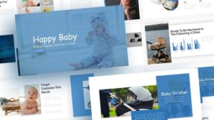 Baby Tech PowerPoint Template