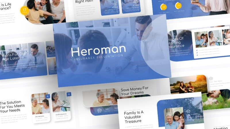 Free-Heroman-Insurance-Powerpoint-Template