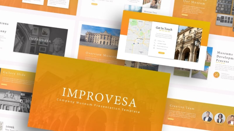 Free-Improvesa-Museum-Company-Powerpont-Template