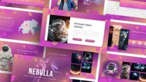 Free-Nebulla-Luar-Angkasa-Powerpoint-Template