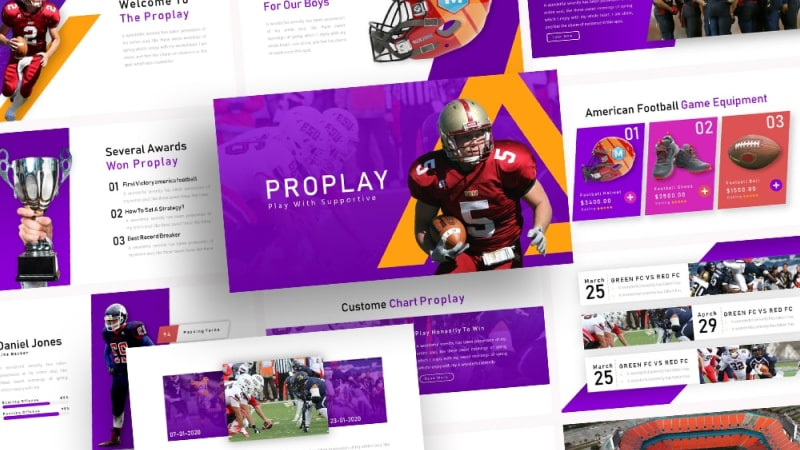 Free-Proplay-American-Football-Presentation-Template