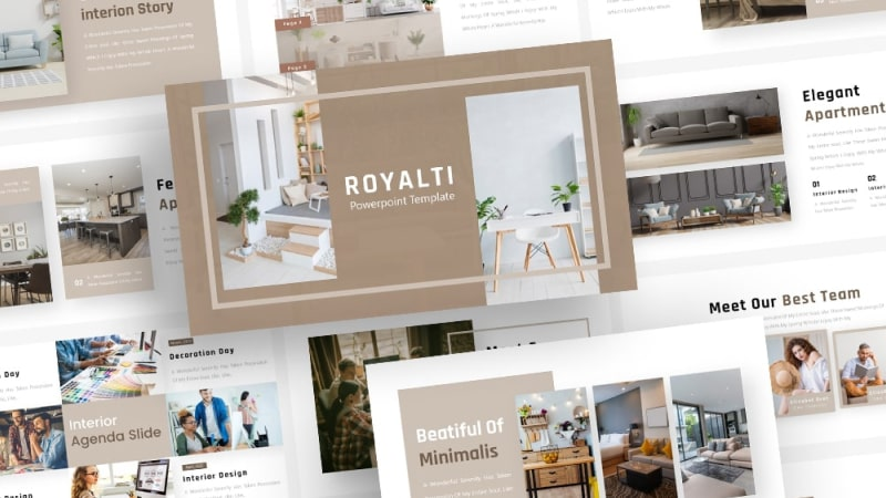 Free-Royalti-Interior-Powerpoint-Template
