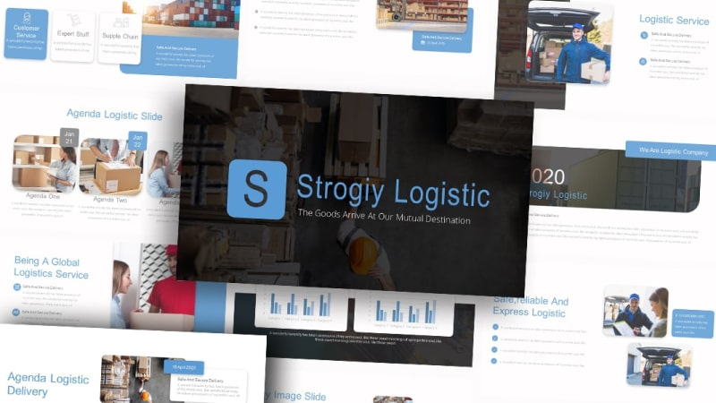 Free-Strology-Logistic-Logistic-Powerpoint-Template