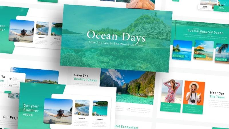 Free Ocean PowerPoint Template