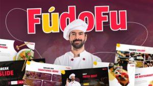 Fudofu Culinary PowerPoint Template