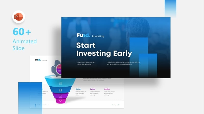 Fund Investment PowerPoint Template