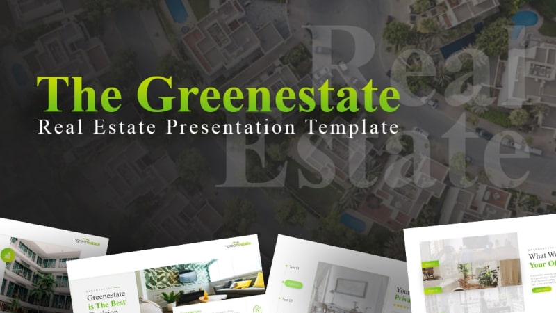 Greenestate Architecture PowerPoint Template