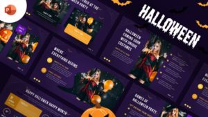 Halloween Party PowerPoint Template