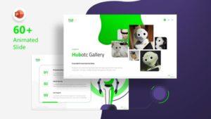 Hubotc Robot PowerPoint Template