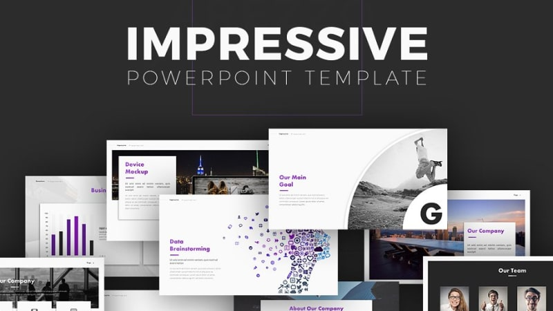 Impressive Business PowerPoint Template