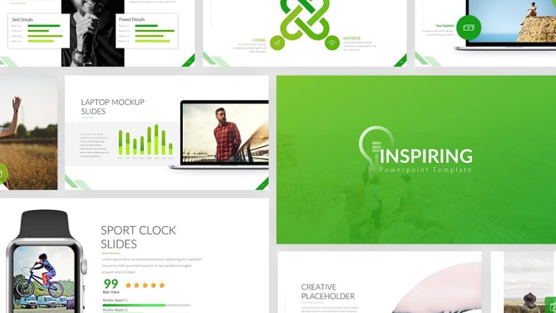 Inspiring Business PowerPoint Template