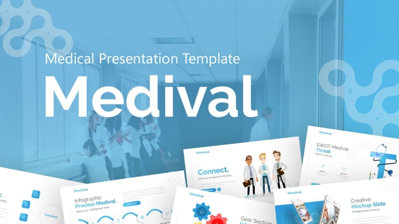 Medival Pharmaceutical PowerPoint Template