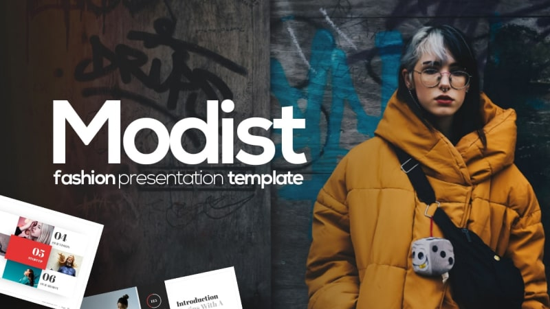 Modist Fashion PowerPoint Template