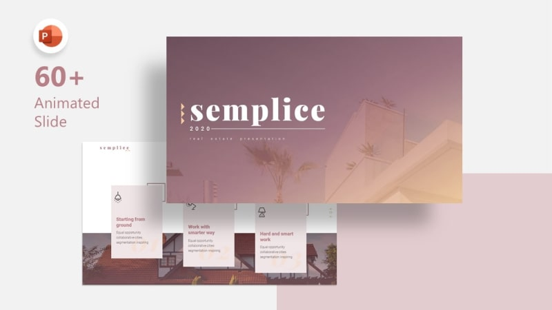 Semplice Real Estate PowerPoint Template