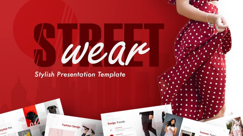 Streetwear Fashion PowerPoint Template