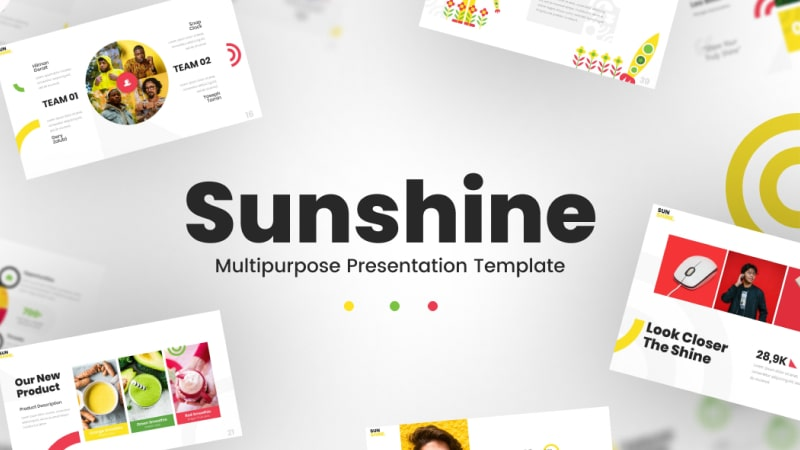 Sunshine Multipurpose PowerPoint Template