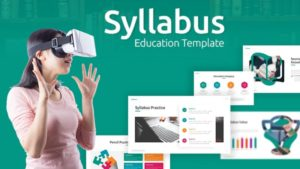 Syllabus Education PowerPoint Template