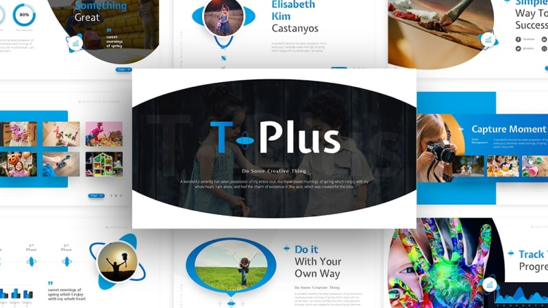 TPlus – Elementary School Presentation Template