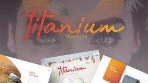 Titanium Photography PowerPoint Template