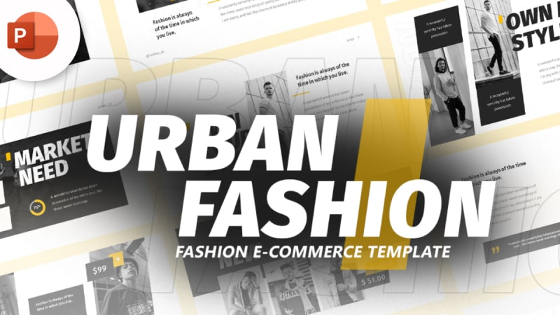 Urban Fashion PowerPoint Template