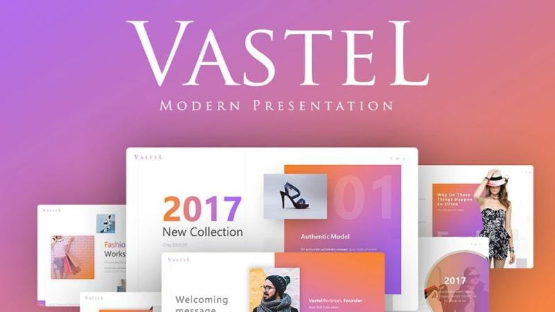 Vastel Fashion PowerPoint Template