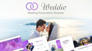 Weddio Wedding PowerPoint Template