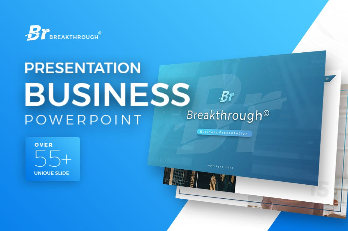 Breakthrough Business PowerPoint Template