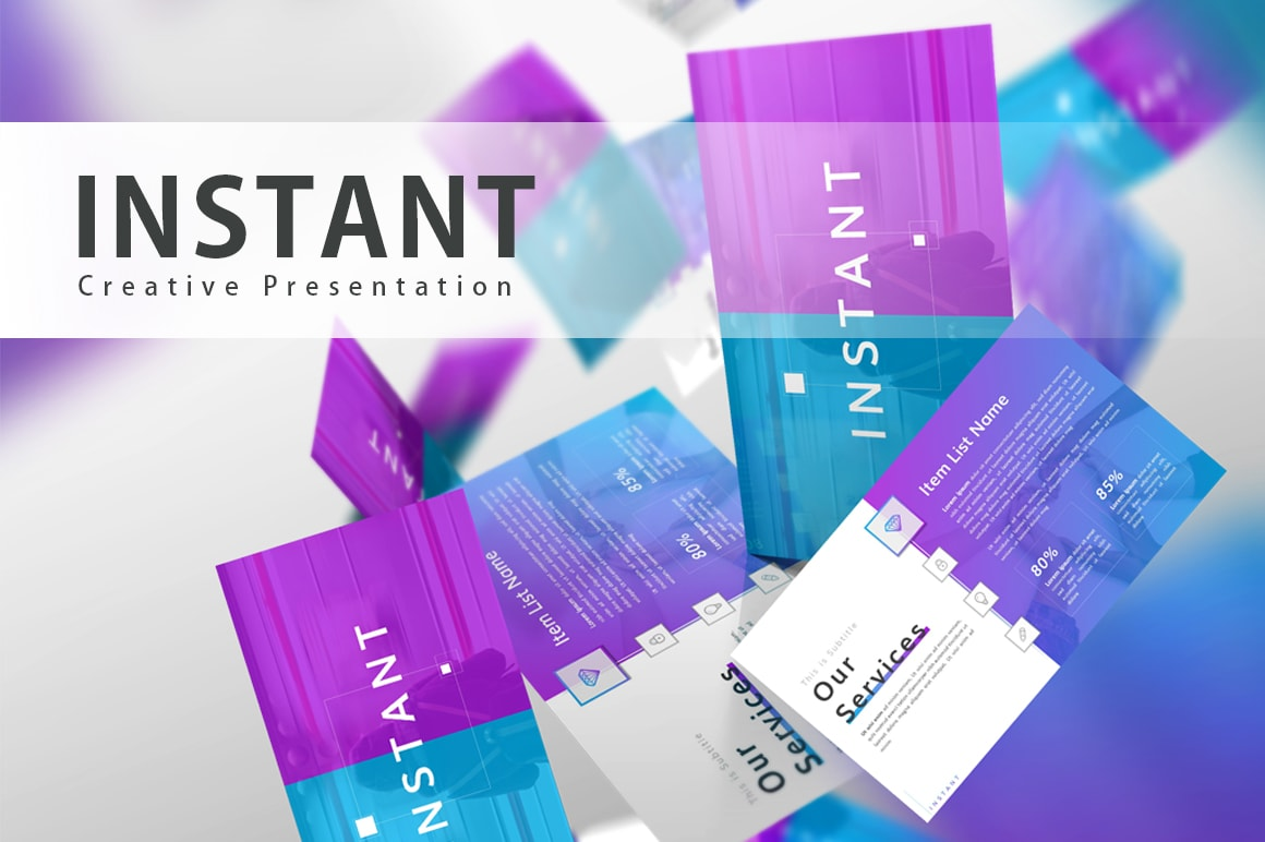 Instant Business PowerPoint Template