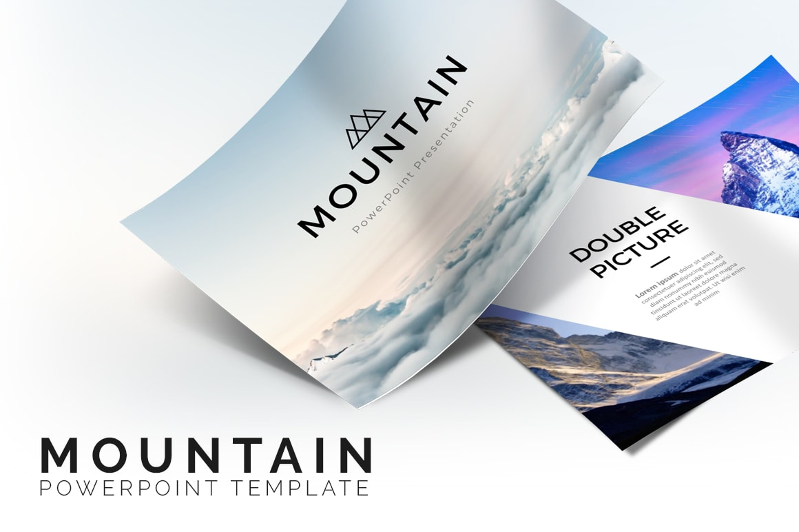 Mountain Nature PowerPoint Template