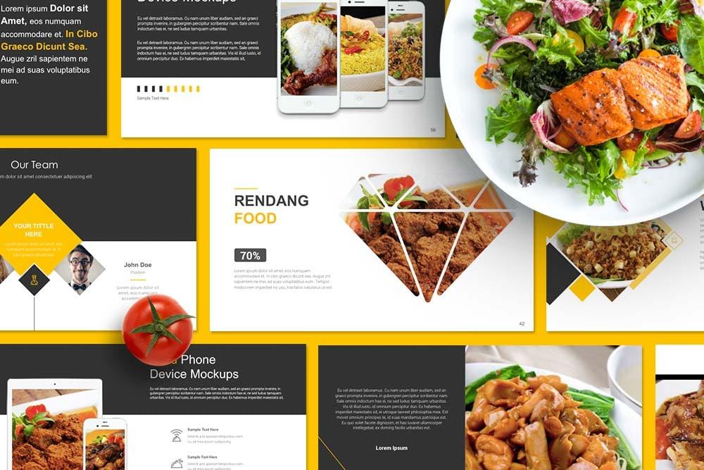 Restaurant Culinary PowerPoint Template