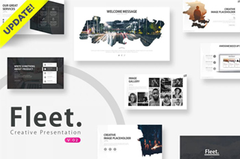 Fleet Photography PowerPoint Template