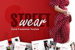 Streetwear Fashion PowerPoint Template